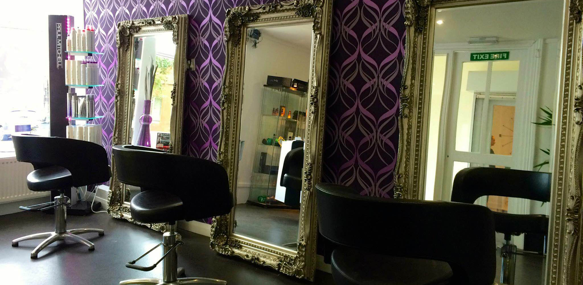 Our salon hair design airdrie for A touch above salon